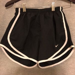 nike lined athletic shorts